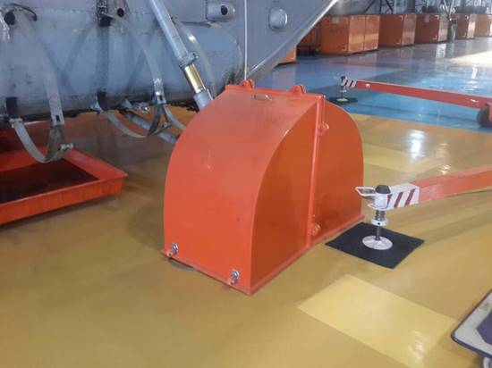 Wheel Guard For MI 17 V5 Helicopter